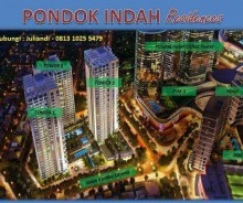Pondok Indah Residence Jakarta, Apartment For Sale MP122