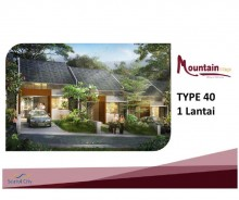 Sentul City Bogor, New Cluster Mountain Village MD392