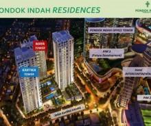 Pondok Indah Residences, Apartemen di Kawasan Pondok Indah, Jakarta MD376