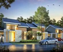 Dijual Rumah New Cluster Bukit Rosemary Citra Indah, Bogor MD414