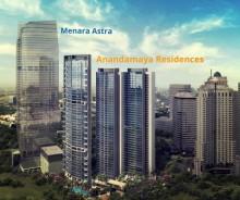 Anandamaya Apartment 2 BR Semi Furnished, Jakarta Selatan P0666