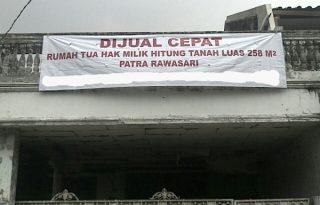 Dijual Rumah Tua Hitung Tanah Luas 258 Meter, Jakarta Pusat PR1302