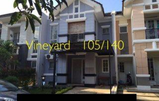 Dijual Rumah di The Green Vineyard Bsd, Tangerang Selatan AG937