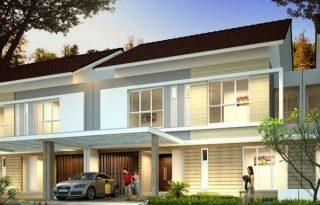 Dijual Rumah Cluster Palm Spring, Jakarta Garden City, Jakarta Timur AG919