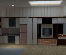 Dijual Apartemen Casa De Parco Type Studio, BSD, Tangerang PR1433