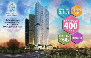 Apartemen Pacific Garden Style, Investasi Terbaik di Alam Sutera MD571