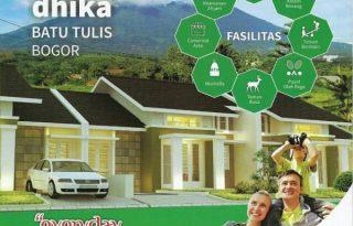 Jual Rumah Minimalis Baru di Taman Dhika Batu Tulis, Bogor P0853