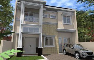 Jual Rumah Baru Green Residence Pondok Kelapa Jakarta Timur MP246