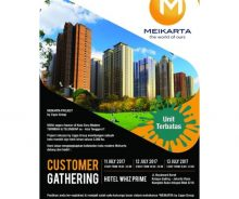 Investasi Apartemen Harga Perdana di Meikarta Lippo Cikarang MD624