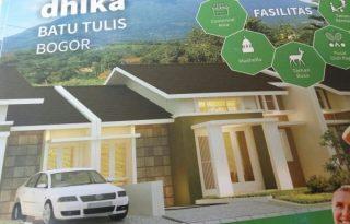 Taman Dhika Batu Tulis, Rumah Cluster Asri dan Sejuk di Bogor MD585