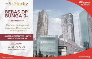 Dijual Apartment St Moritz, Exclusive dan Mewah di Jakarta Barat MD586