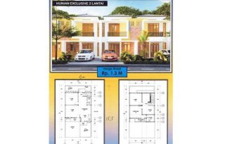 Gapura Menteng Bintaro, Rumah Minimalis Baru dan Strategis di Bintaro AG1077