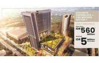 Di Jual Apartemen Trans Park Bintaro Luxurious Residence md671