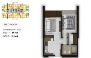 Dijual Cepat Secondry Apartemen Lexington Residence – Pondok Indah  Jakarta Selatan PR1627