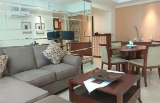 Disewakan  Apartemen Bellagio Residence, Tower B, Lantai 8B, Mega Kuningan, Jakarta Selatan P0931