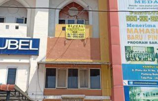 Dijual Ruko Lokasi Strategis di Jl. Marelan Medan Kota PR1639