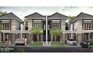 Dijual Rumah Cluster Kemang Permata Lokasi Strategis di Perumahan Bogor Raya MD704