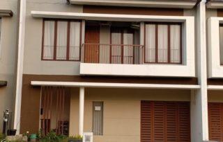 Disewakan Rumah di Cluster Fortune Belleza, Graha Raya Bintaro PR1650