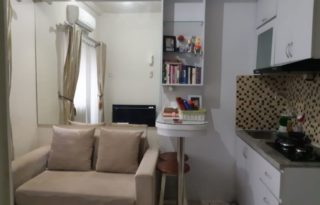 Dijual Apartemen Green Pramuka Tower Penelope 2BR Furnished PR1637