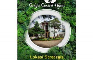 Griya Cinere Hijau, Rumah Ekslusif dan Strategis Dekat Akses Tol MP349