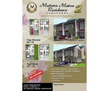 Dijual Rumah Mutiara Matoa Residence 2 Jagakarsa, Jakarta Selatan MD753