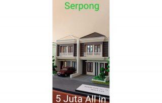 Green Arka Serpong, Rumah Tingkat Mewah Harga 1 Lantai MD762