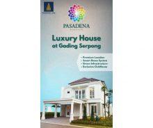 Pasadena Residences, Cluster Premium Terbaru di Gading Serpong MD838